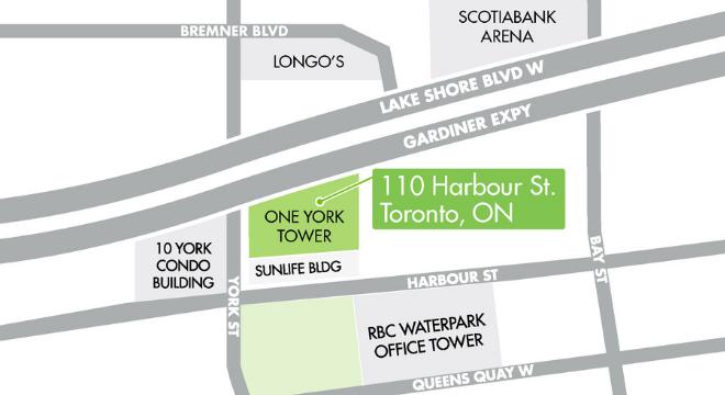 NY - HealthOne Toronto, 110 Harbour St, Toronto, ON M5J 0B7